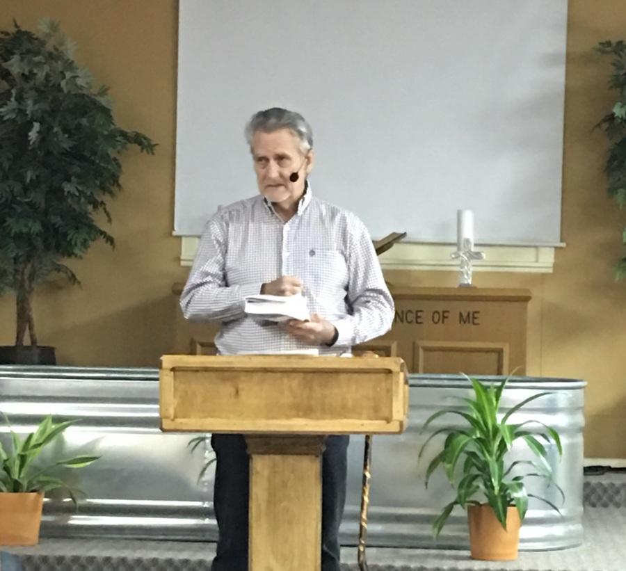Preaching again